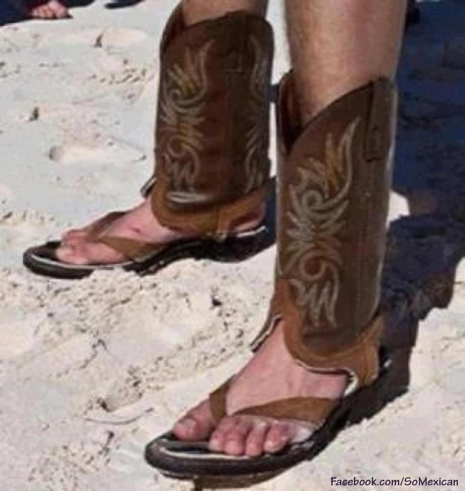 hideoderous. cowboy boot sandals. no country for old moms. NEVER ...