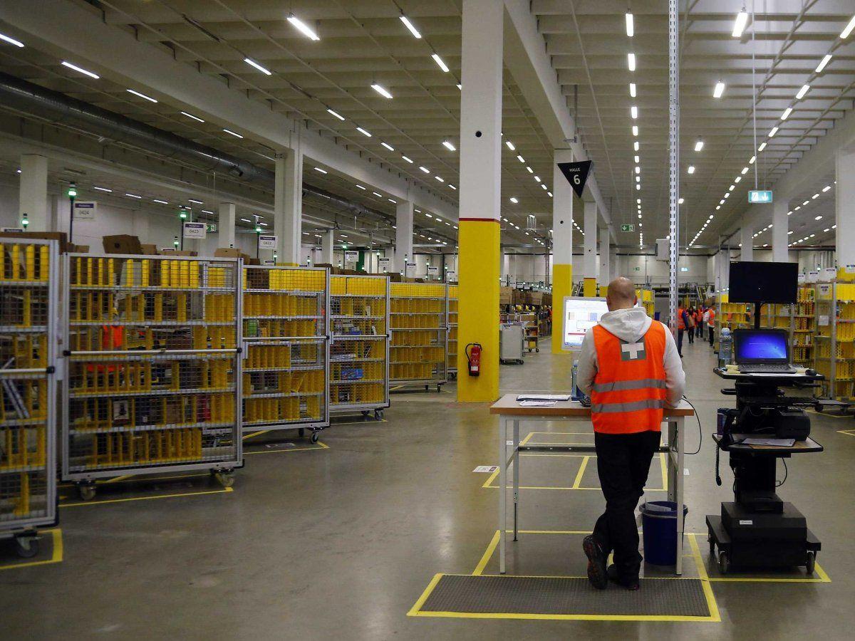 Amazon warehouses ado