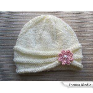 bonnet de naissance a tricoter