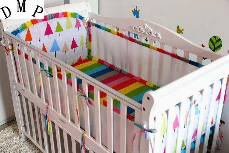 37.80$  Watch here - http://alixkn.shopchina.info/1/go.php?t=32792571708 - Promotion! 5PCS Baby Bedding Sets Cotton Cartoon Wan Design Crib Bed Bumpers Set baby bumper ,include:(bumper+sheet)  #bestbuy