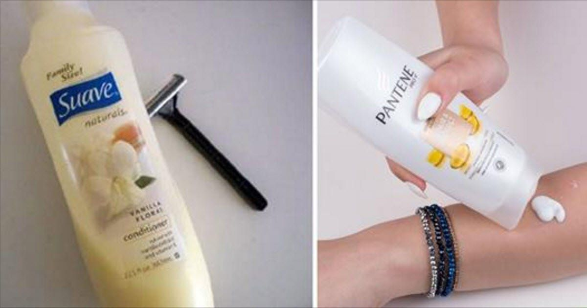 14 Unusually Brilliant Ways You Can Use Conditioner Besides On Your Hair