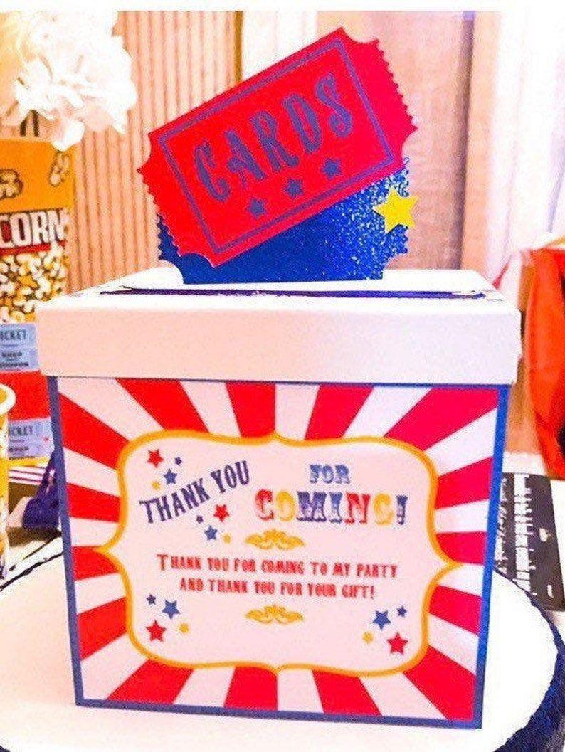 Carnival card box carnival cards holder Etsy Carnival