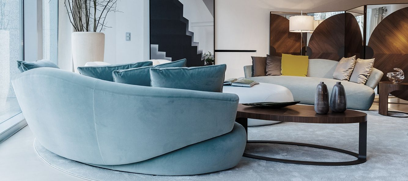 made in Italy Solemyidae sofa, project by