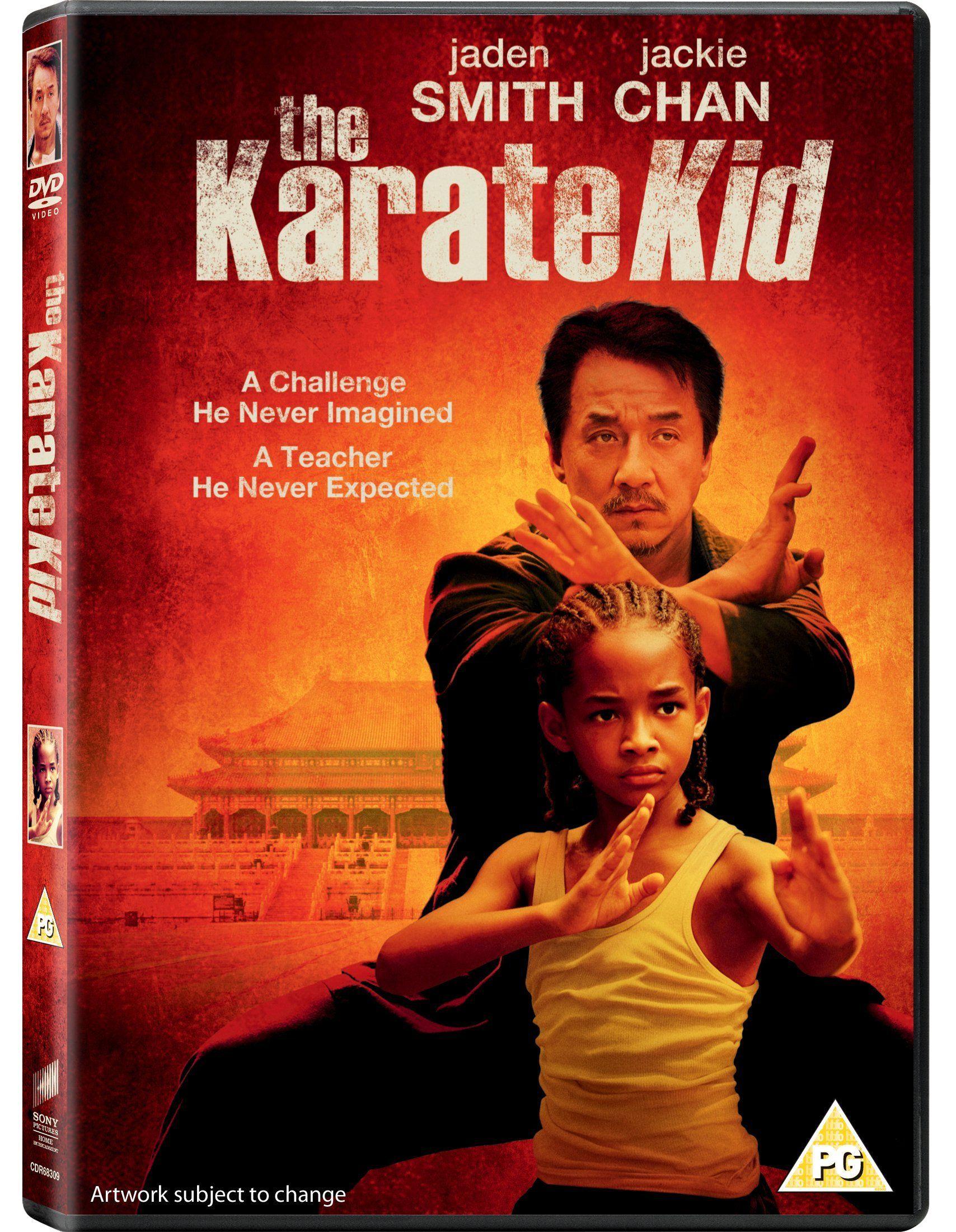 The Karate Kid Reino Unido Dvd Ad Kid Karate Reino Dvd Karate Kid Movie Karate Kid 2010 Karate Kid