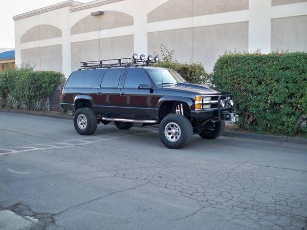98 Suburban 2500 Chevy Suburban Chevrolet Suburban Suburban