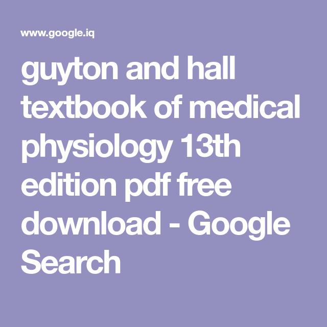 Guyton Textbook Medical Physiology
