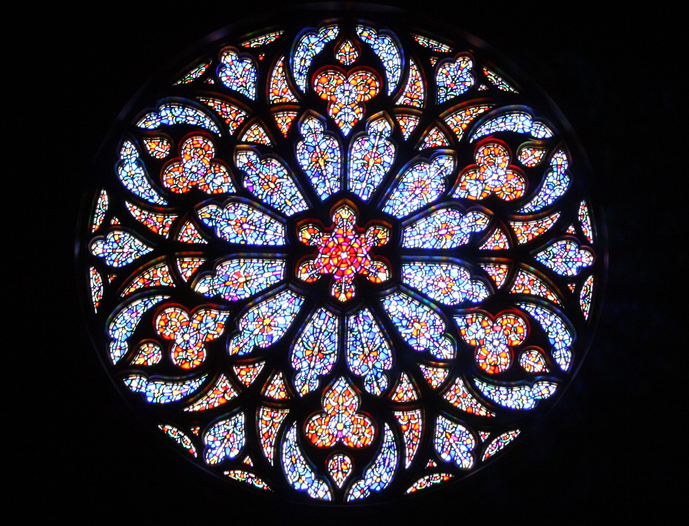 Ap 3d Gothic Rose Windows Rose Window Stained Glass