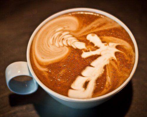 Un dragón en mi café