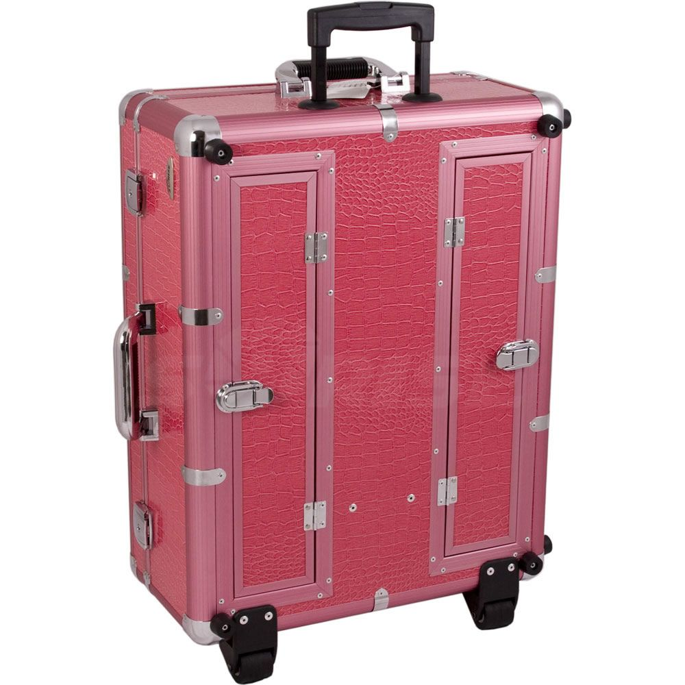 Hair Stylist Rolling Case Cosmetic Professional Hair