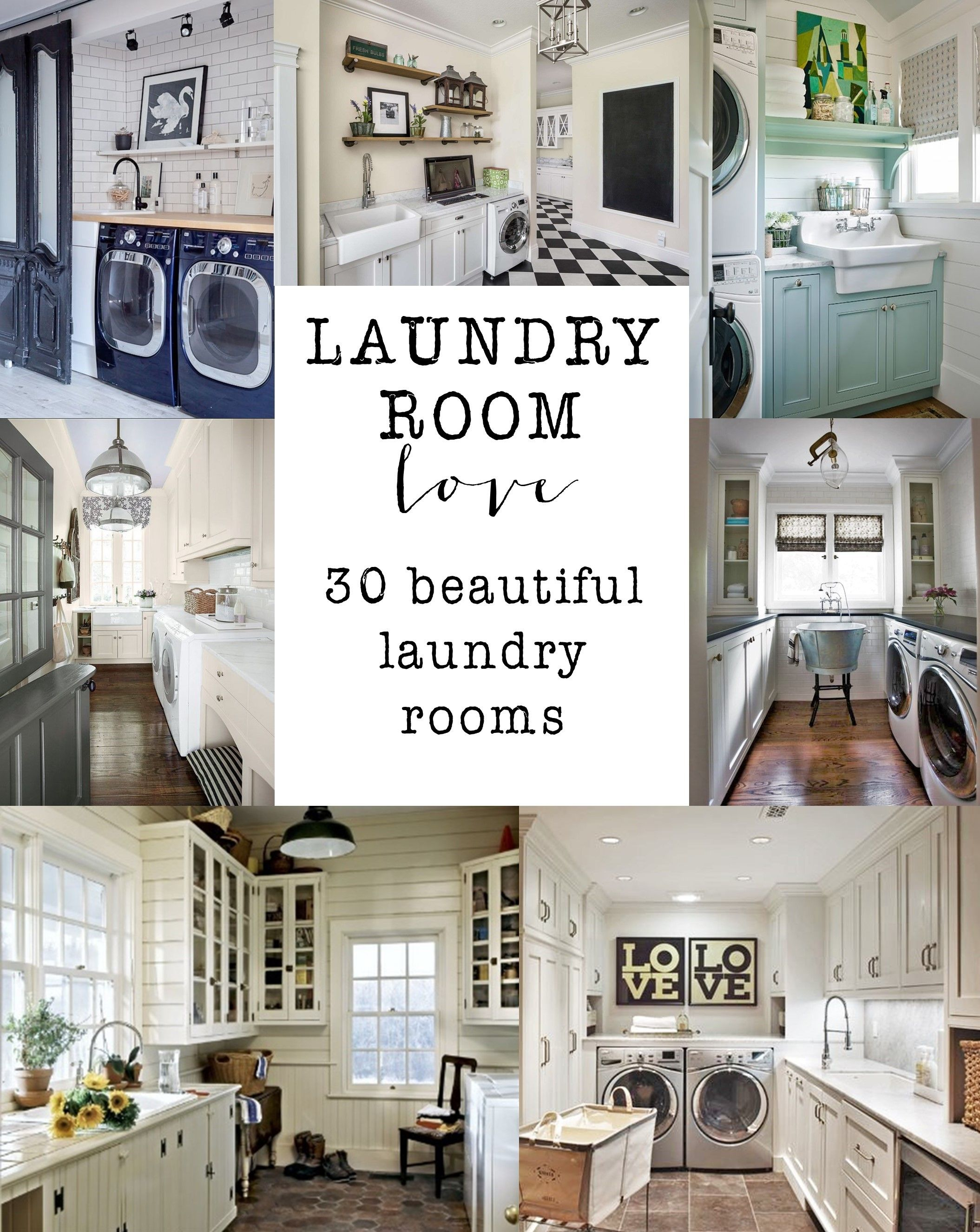 Laundry Room Love - House of Hargrove