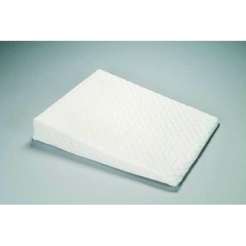 """Acid Reflux Sleep Wedge -  Helps relieve acid reflux, snoring, sleep apnea, and indigestion. The wedge gives you 5 of height 100% Polyurethane foam with removable quilted polycotton cover. Size: 32"""" x 26"""" x 5.5""""."""