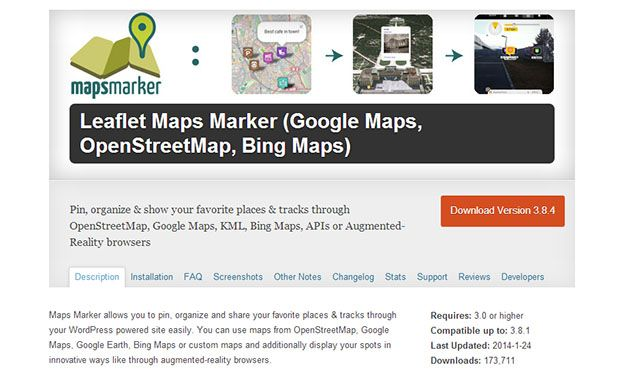 Leaflet Maps Marker Google Maps Plugin | web | Leaflet map