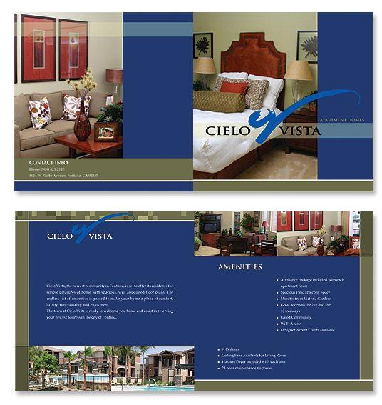 Real Estate Brochure Design  Graphic Design Ideas