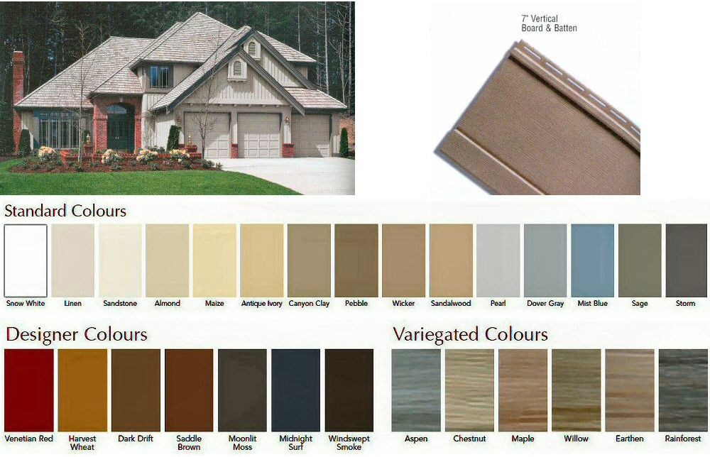 Image Result For Board And Batten Vinyl Siding Colors