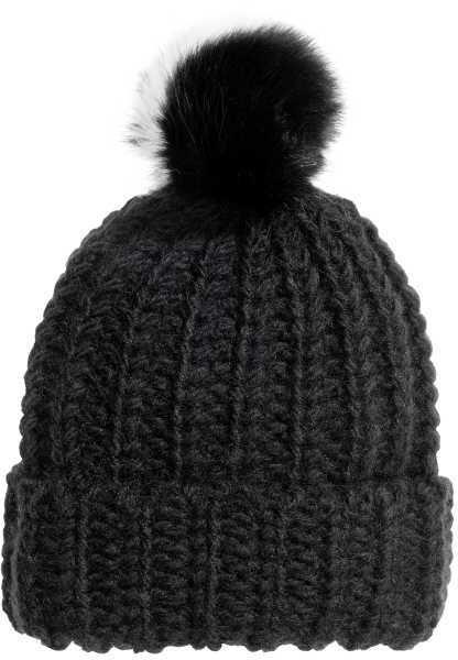 H M - Pompom Hat - Black - Ladies  83241d728e2