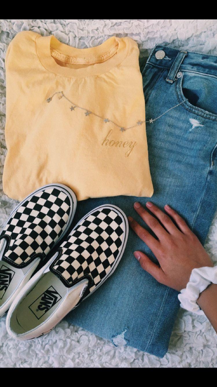 0aeb49f6aecd ootd- Top  Brandy Melville Choker  Brandy Melville Shoes  Vans Jeans   American Eagle Scrunchie  Target