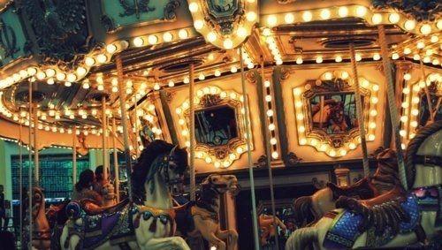 carnival carousel lights fairground pinterest carousel