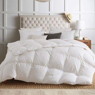 Kasentex White Down Comforter 1600TC, 850 Fill Power (King)