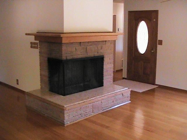 Corner Two Sided Fireplace Mantels Sided Corner