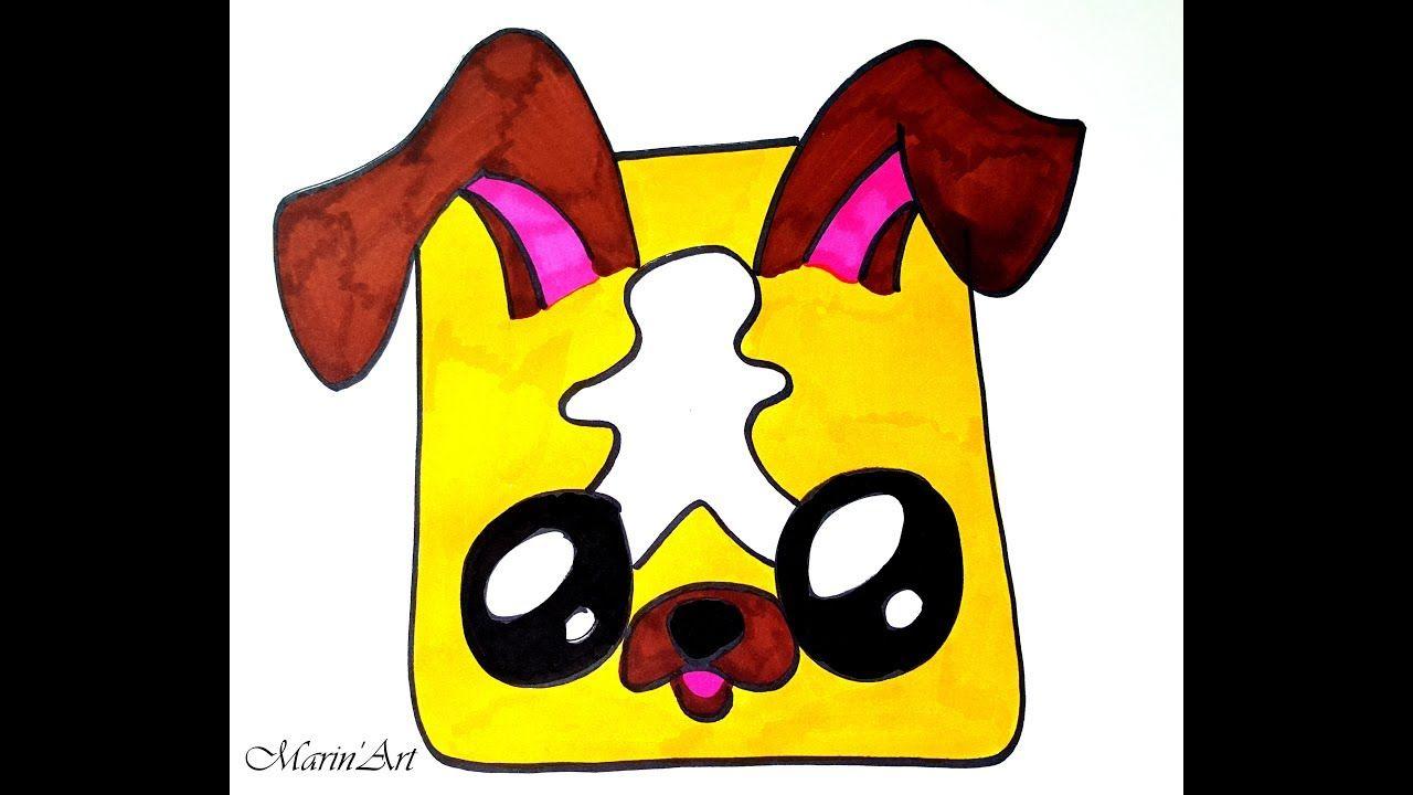 Dessiner Snapchat Filtre Chien Kawaii   Meisjes tekenen ...