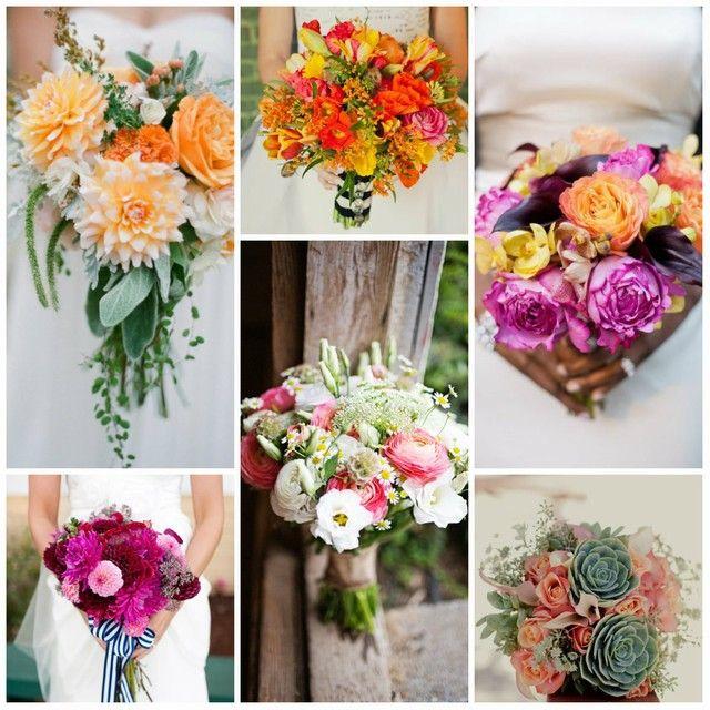 bouquet de mariée moderne et chic   wedding bouquets   pinterest