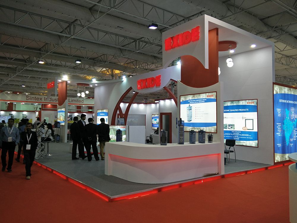 Our Recent Work For Exide Industries Limited At Bangalore International Exhibition Center