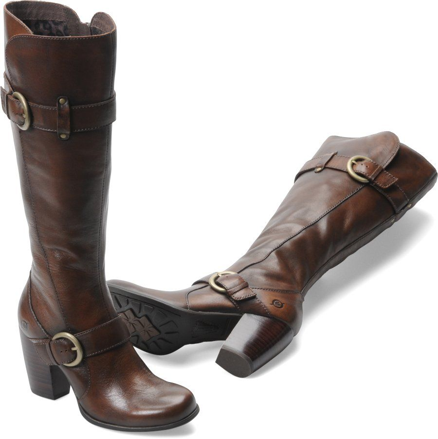 Born Rimes In Cognac Burnished - Womens Boots