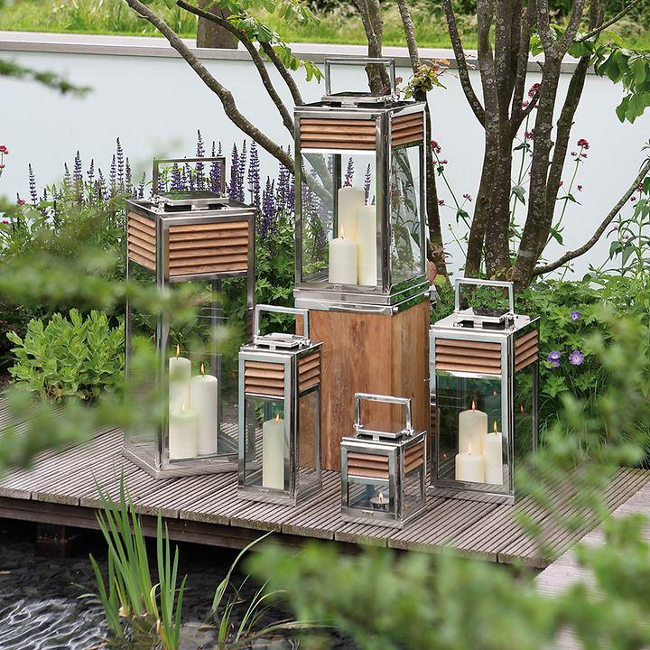Garten Laternen Von Fink Living In 2020 Laterne Garten Laterne Teak