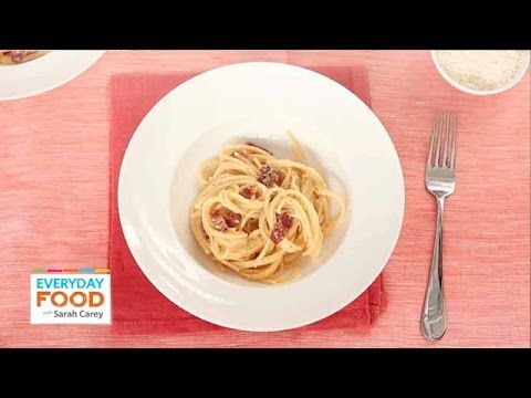 Spaghetti alla carbonara dinner sarah carey everyday food and dinners recipes spaghetti alla carbonara dinner forumfinder Gallery