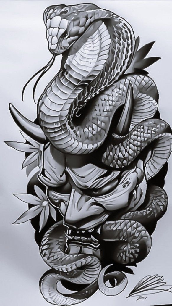 This Is How Japanese Tattoo Designs Will Look Like In 11 Years Time Japanese Tattoo Designs Snake Tattoo Design Japanese Snake Tattoo Japan Tattoo Design