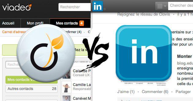 viadeo cv en ligne Geekeries : Viadeo ou LinkedIn : lequel privilégier pour créer  viadeo cv en ligne