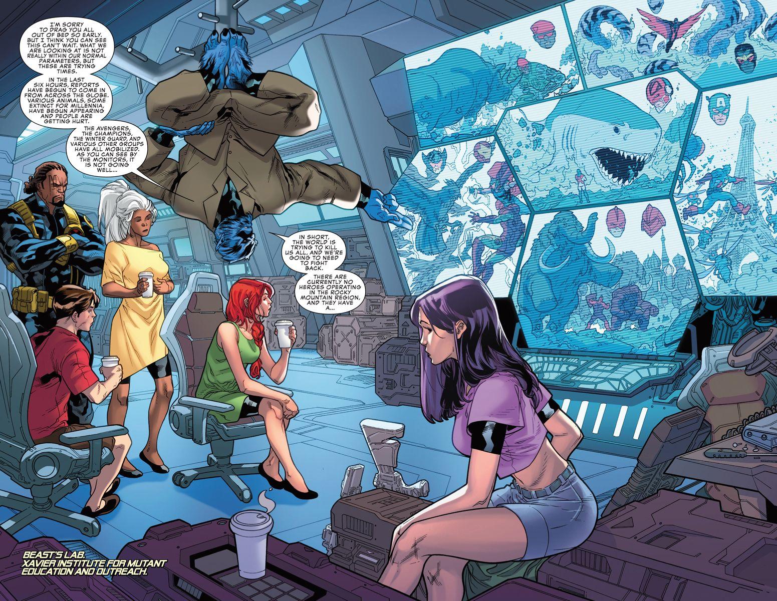 Uncanny X Men 2 Preview In 2020 Marvel Villains Xmen Comics Marvel Art