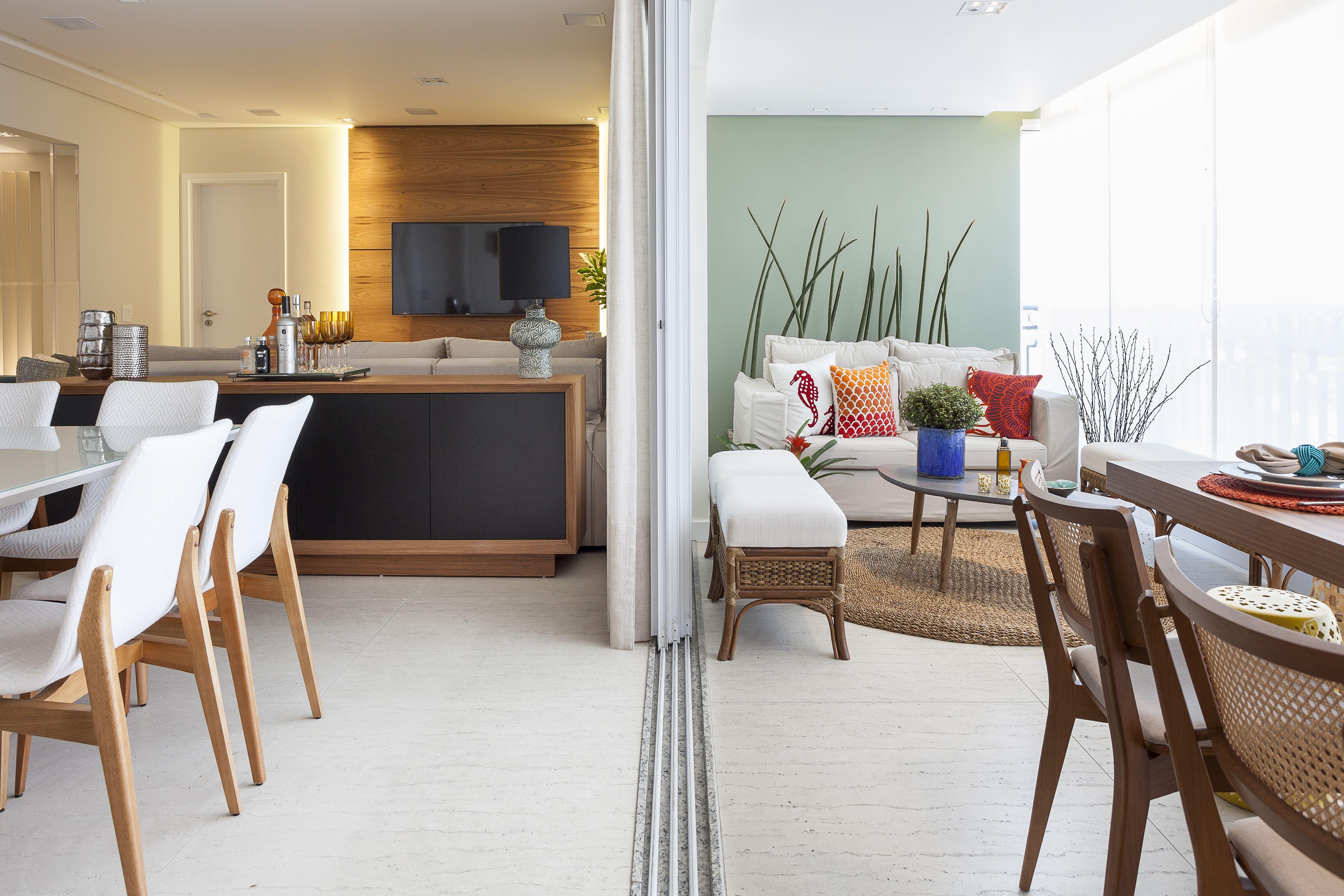 Sala De Jantar E Varanda Gourmet Integradas Pinterest Sacada
