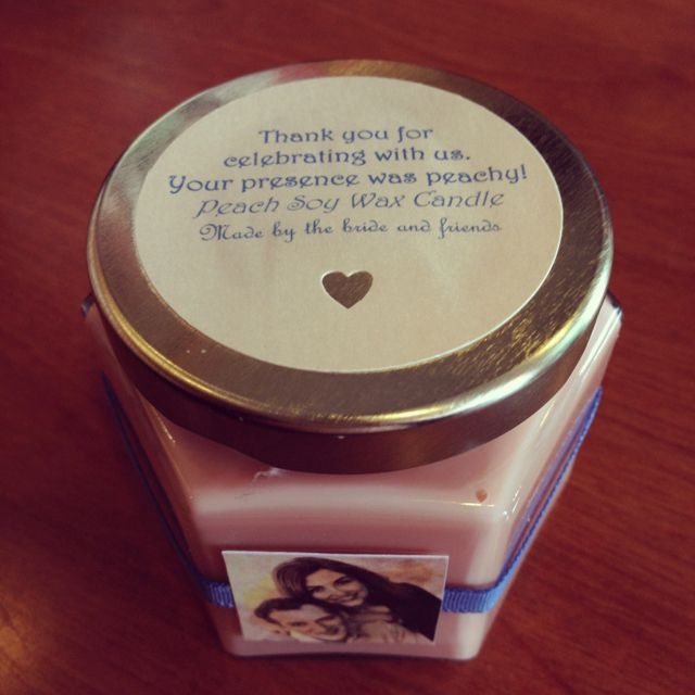 Homemade Soy Candle Wedding Favor Candle Wedding Favors Homemade Soy Candles Wedding Favors