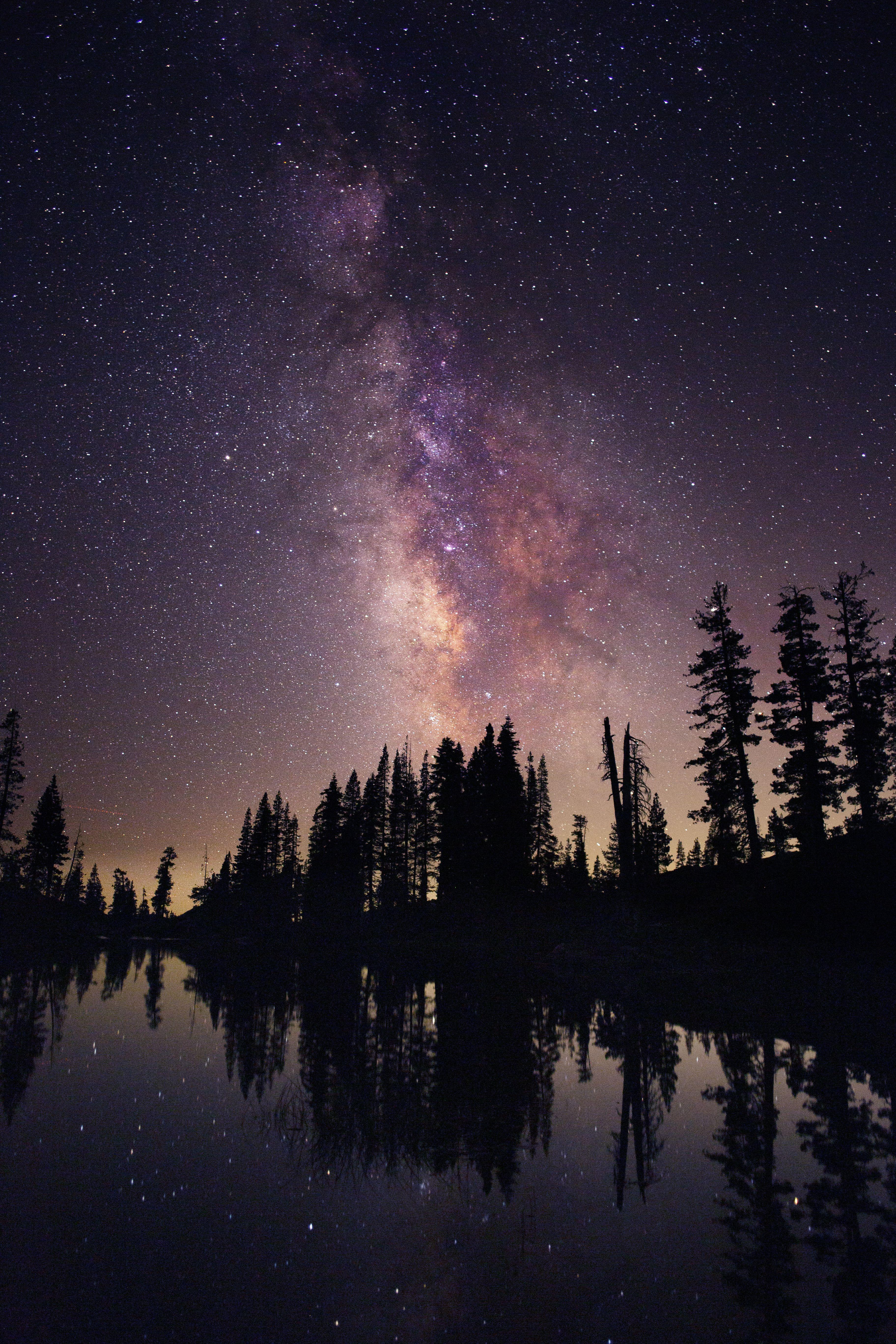Milky Way Lake Tahoe California Lake Sunset Photography Lake Photography Starry Night Sky