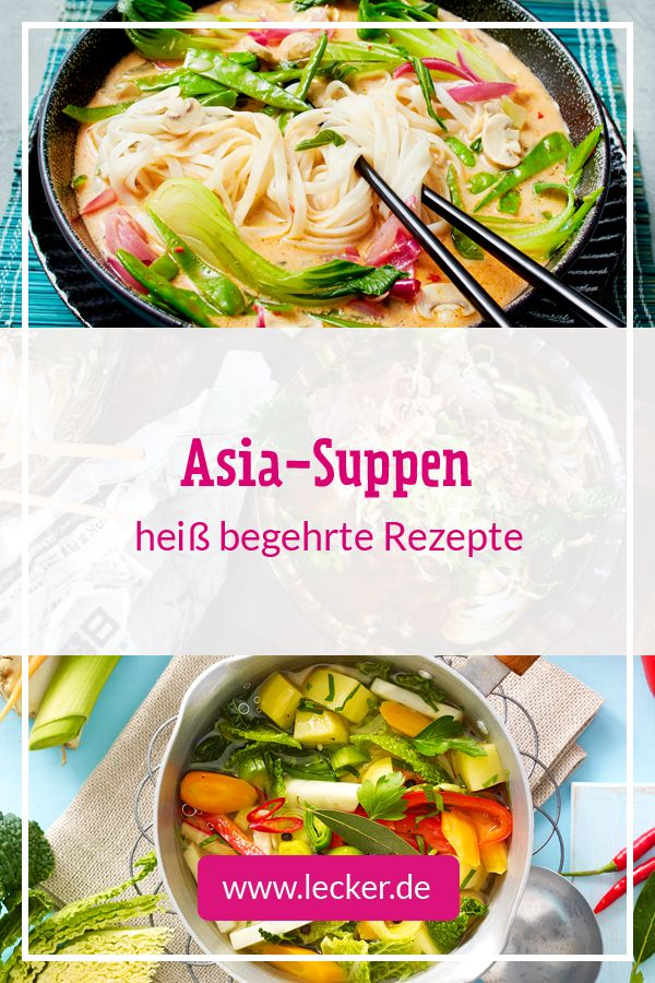 Asia-Suppe - Pho Bo, Tom Khaa Gai und Co. | LECKER