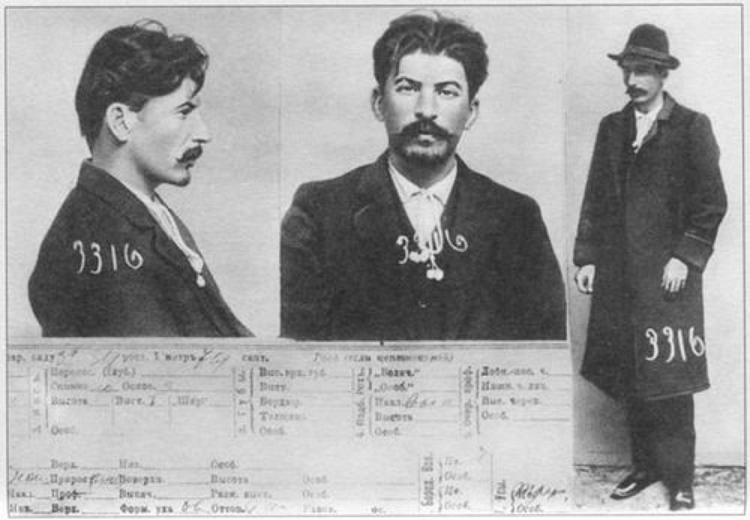 Police Record Of Joseph Vissarionovich Stalin From 1911 Russian Empire Photos Historiques Photo D Identite Judiciaire Portraits