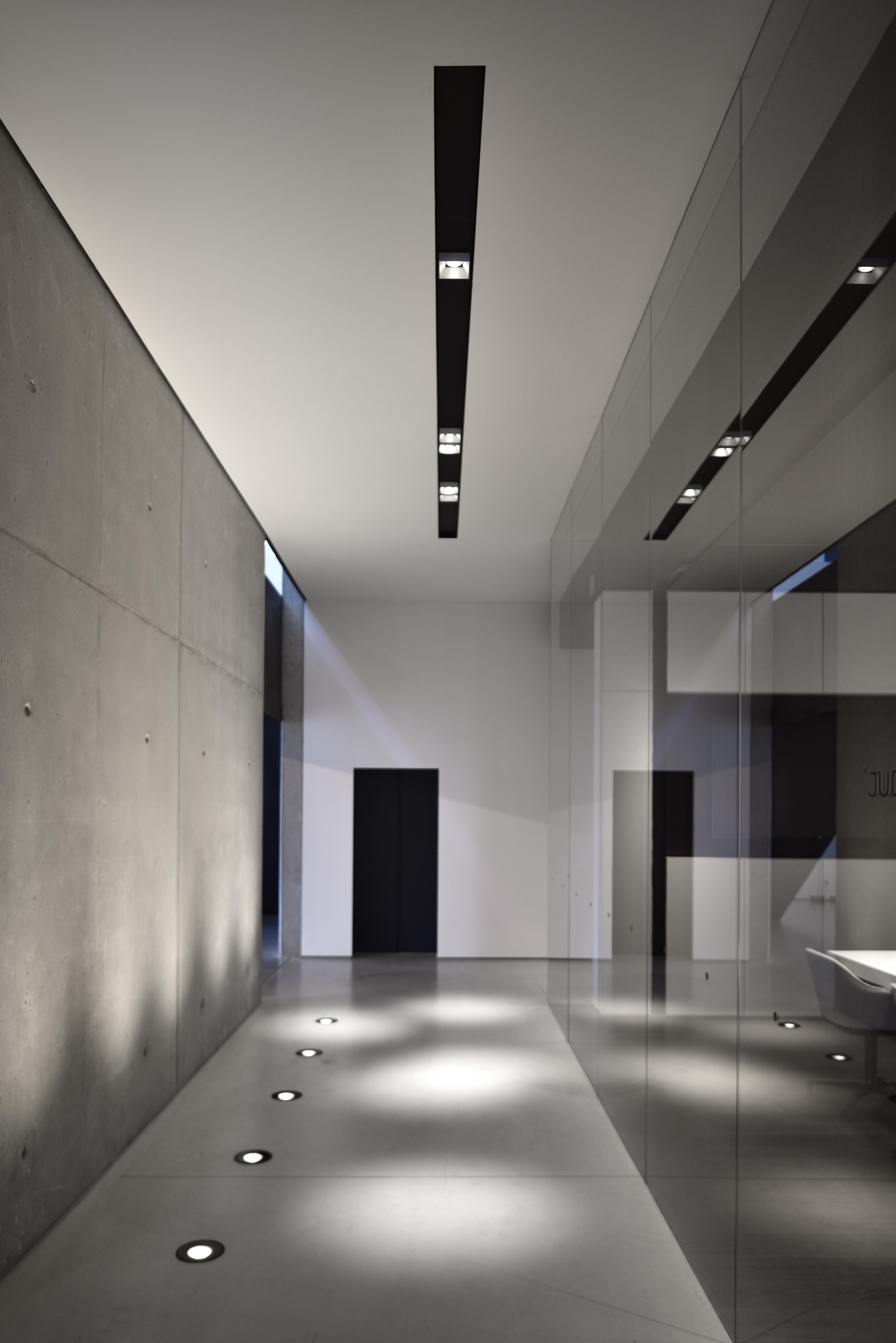 Kreon Up Uplighter Waterproof Concrete Wall Metal Profile System Cana Led Design Hallway Office Home Lighting Design Ceiling Design Living Room Lobby Design