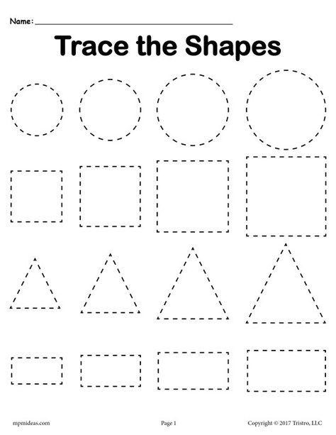 pin on tot school shapes. Black Bedroom Furniture Sets. Home Design Ideas