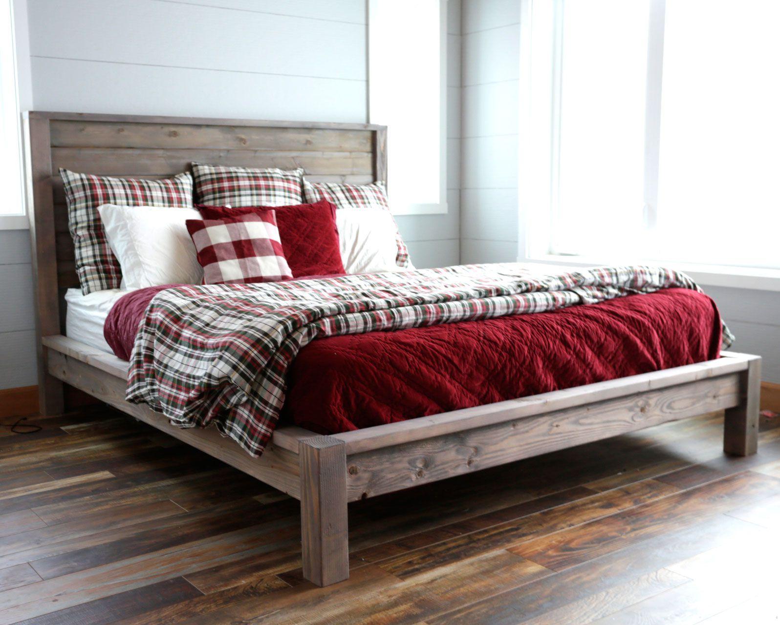 Modern Farmhouse Bed Frame Farmhouse Bedroom Furniture