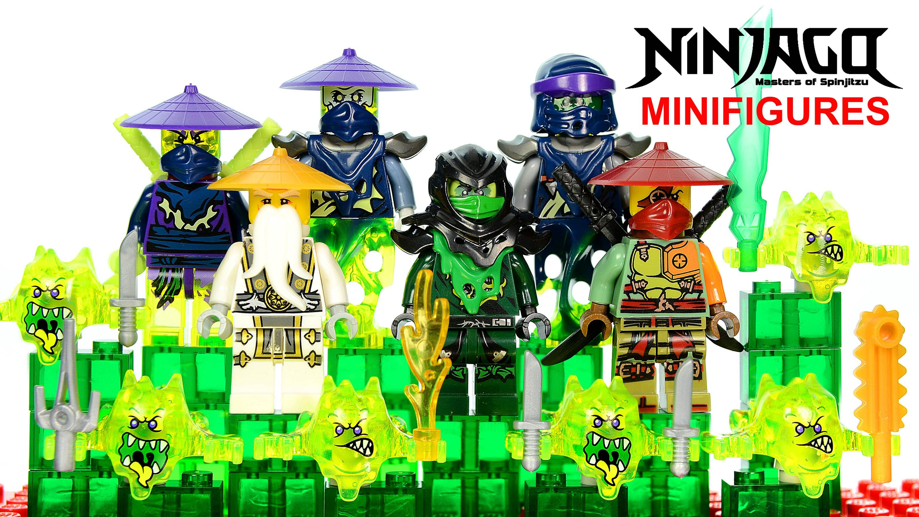 Ninjago Ghosts Warriors W Ronin Sensei Wu Lego Knockoff