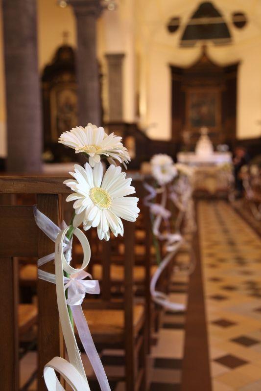 Decoration Banc D Eglise Mariage Pinterest