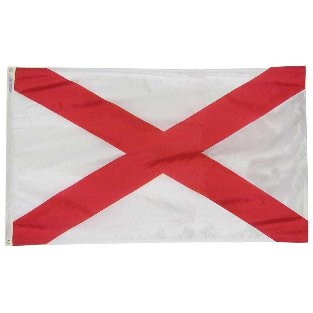 Annin Flagmakers 3 Ft X 5 Ft Alabama State Flag In 2020 State Flags Missouri State Flag Oregon State Flag