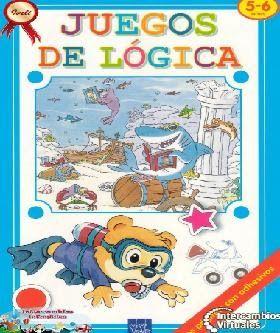 Juegos De Lógica Es Un Libro Que Permitirá A Tu Niño Jugar Pegar Y Aprender De Una Manera Fácil Y Entretenida Son Activi Juegos De Logica Juegos Logica