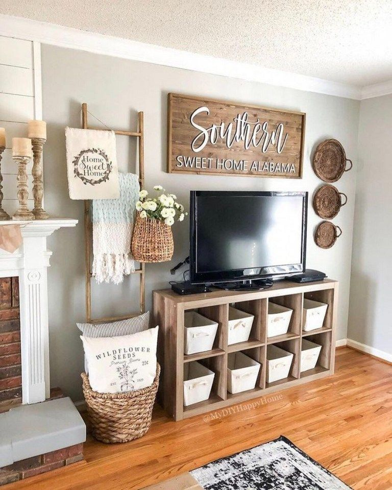 72 Best Farmhouse Living Room Tv Stand Design Ideas 49 Living Room Tv Stand Farm House Living Room Farmhouse Decor Living Room