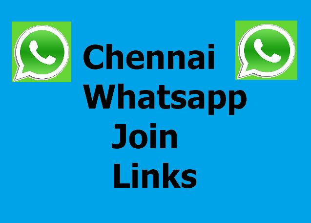 Chennai Whatsapp Groups - 100+ Join Chennai Girls Groups Links