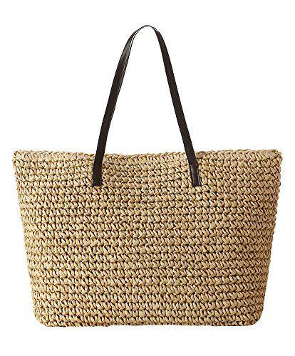 Hot Sale Women Classic Straw Summer Beach Sea Backpack