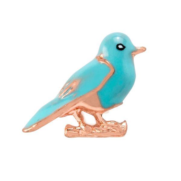 CH3231 Bluebird Origami Owl Charm