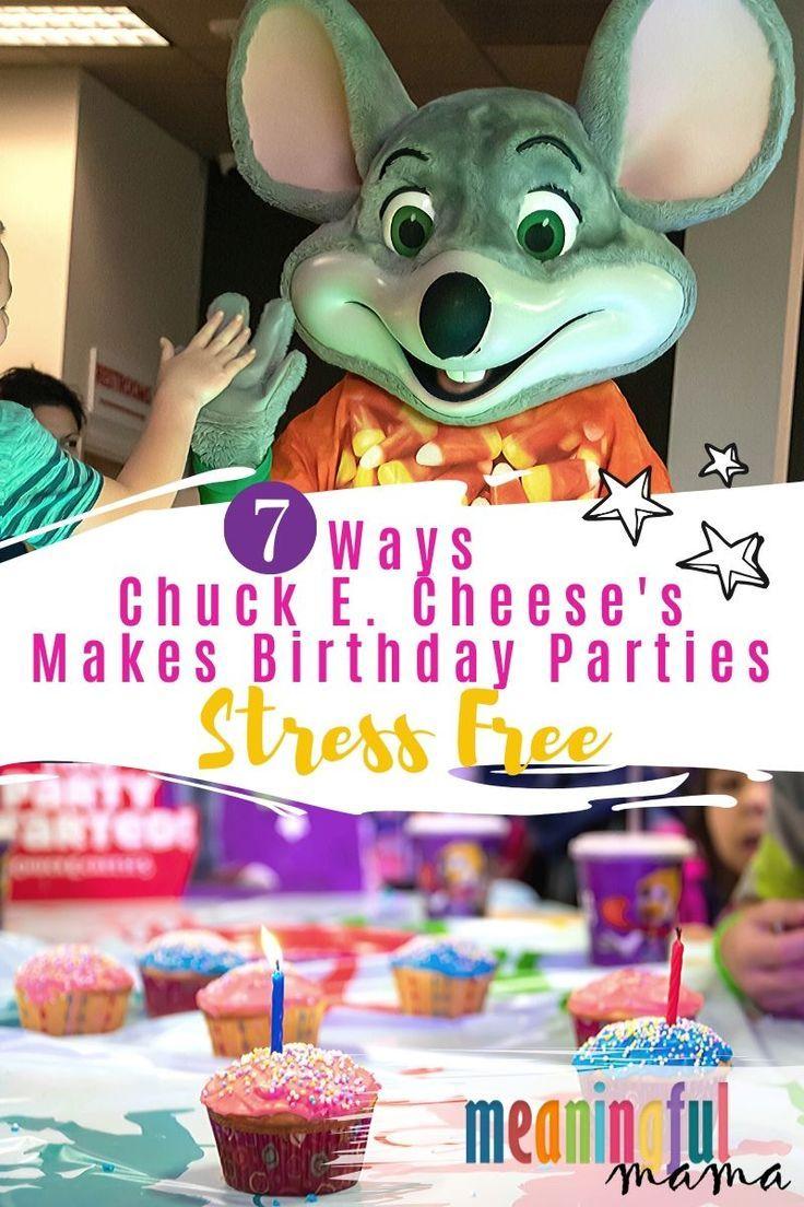 chuck e cheese birthday party reviews