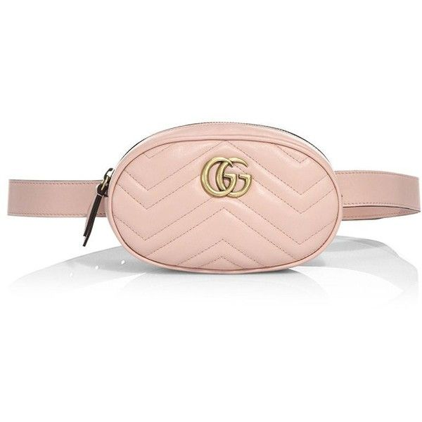 Gucci GG Marmont Matelassé Leather Belt Bag ($1,050) liked ...